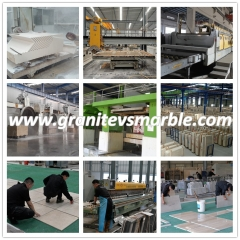Guangxi White Marble Flooring Wall Tiles and Slabs