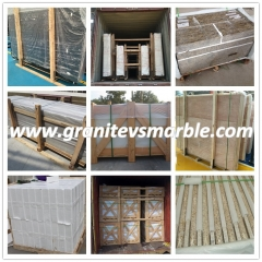 Sivec White Marble Flooring Wall Tiles and Slabs