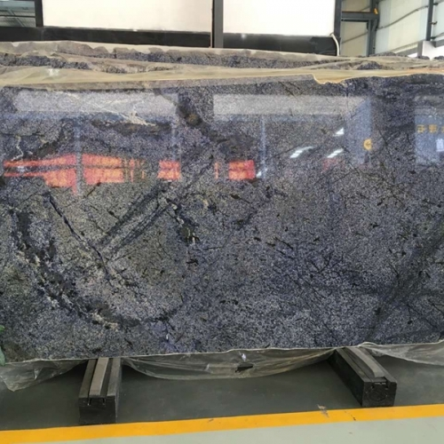 Azul Bahia Blue Granite Tiles Slabs Countertops