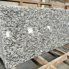 Wave Spray White Granite Tiles Slabs Countertops
