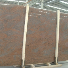 Multicolor Red Granite Tiles Slabs Countertops