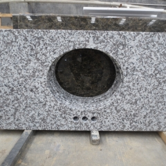 G439 Cloud White Granite Tiles Slabs Countertops
