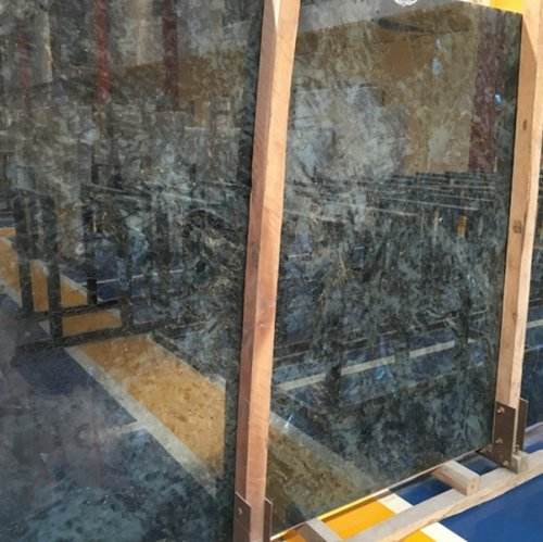 Labradorite Blue Granite Tiles Slabs Countertops