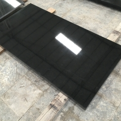 Indian Black Granite Tiles Slabs Countertops