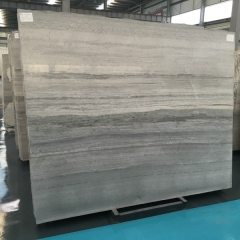 Blue Wood Grain Marble Flooring Wall Tiles and Slabs