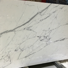 Bianco Statuario White Marble Flooring Wall Tiles and Slabs
