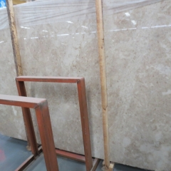 Cappuccino Beige Marble Flooring Wall Tiles and Slabs