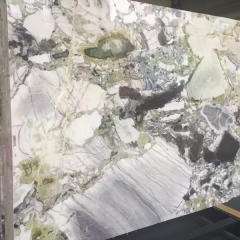 Ice Jade Marble Flooring Wall Tiles and Slabs