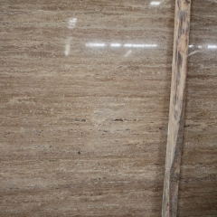 Coffee Travertine Marble Flooring Wall Tiles and Slabs