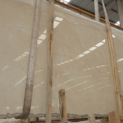 Cream Marfil Marble Flooring Wall Tiles and Slabs