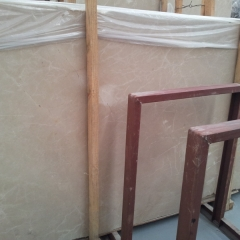 Cream Pearl Marble Flooring Wall Tiles and Slabs