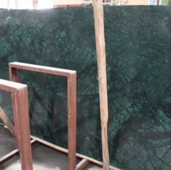 Dark Green Marble Flooring Wall Tiles and Slabs