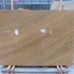 Wood Grain Yellow Marble Flooring Wall Tiles and Slabs