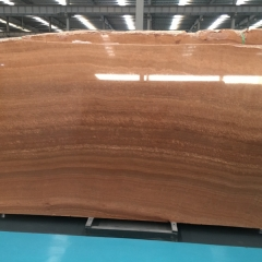 Red Wood Vein Marble Flooring Wall Tiles and Slabs