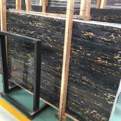Portoro Extra Marble Flooring Wall Tiles and Slabs