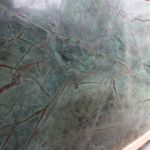 Rainforest Green Marble Flooring Wall Tiles and Slabs