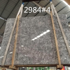 Translucent Grey Ice Onyx Marble Slabs Countertops Table Top Tiles