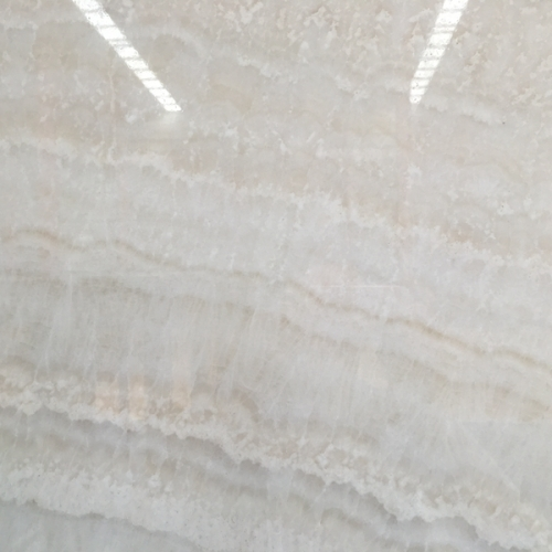 Translucent Vanilla White Onyx Marble Slabs Countertops Table Top Tiles
