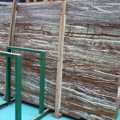 Translucent Bamboo Onyx Marble Slabs Countertops Table Top Tiles