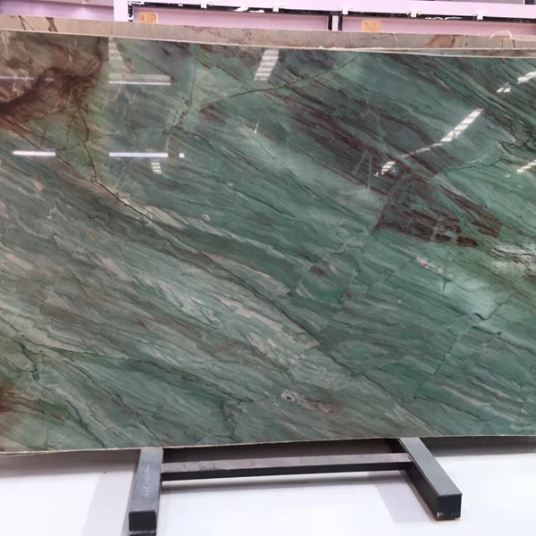 Green Botanic Quartzite Countertops Slabs Manufacturers And Suppliers From China Factory