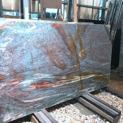 Blue Vangogh Quartzite Countertops Slabs