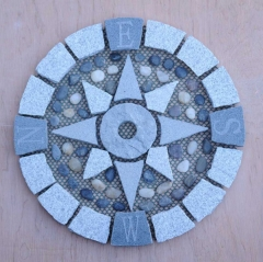 Granite Compass Paving Stone