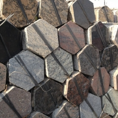 Granite Hexagon Paving Stone