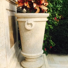 Decorative Garden Granite Marble Stone Flower Pot