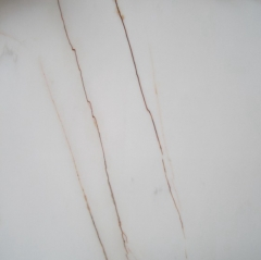 White Marble With Red Veins