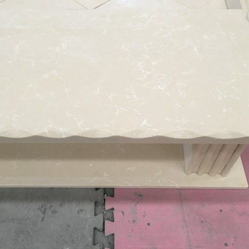 Granite Marble Top TV Stand