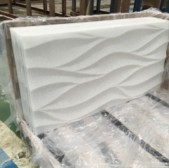 Carved Marble Stone Wall Art Decoration Tiles