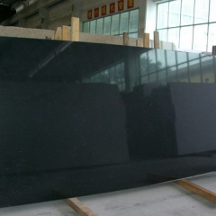 Double Black Marble Slabs Tiles
