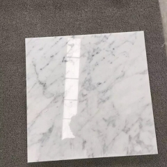 24X24 inches White Carrara Marble Tiles